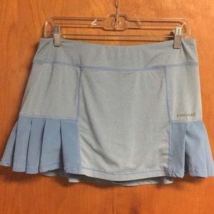 Head Sky Blue Skirt Skort Shorts Tennis Large